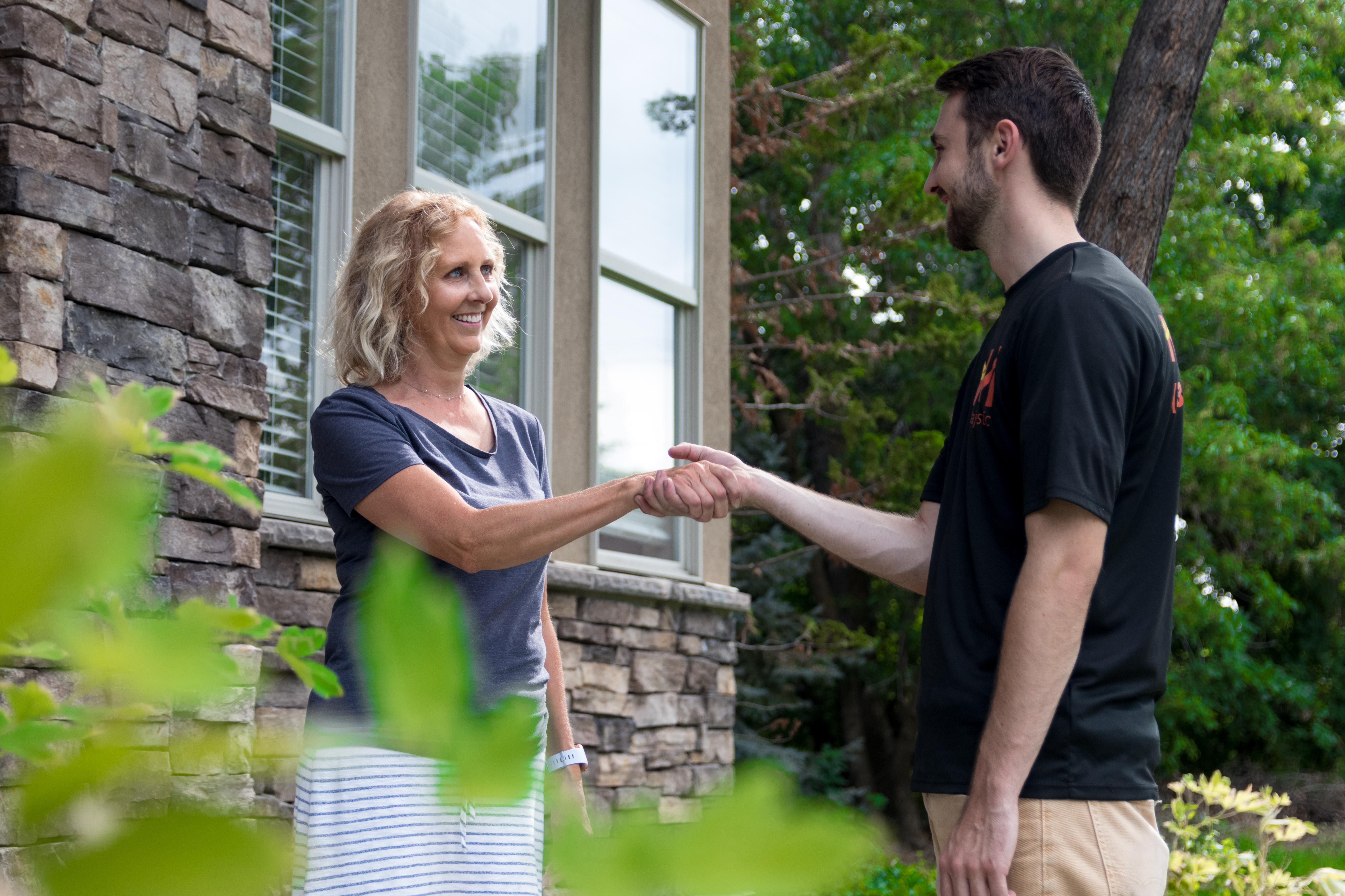 clean windows, customer service, window washing service, top-rated window washing